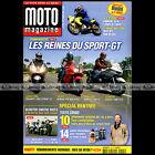 MOTO MAGAZINE N°220 TRIUMPH 1050 SPRINT ST BMW R1200 GS HP2 SUZUKI GSXR 1300