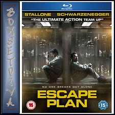 ESCAPE PLAN -Sylvester Stallone &  Arnold Schwarzenegger  *BRAND NEW  BLU-RAY***