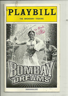 Playbill Bombay Dreams The Broadway Theatre Aug 2004  FREE SHIPPING
