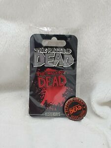 Details about The Walking Dead Pin And TWD 15 Years Button
