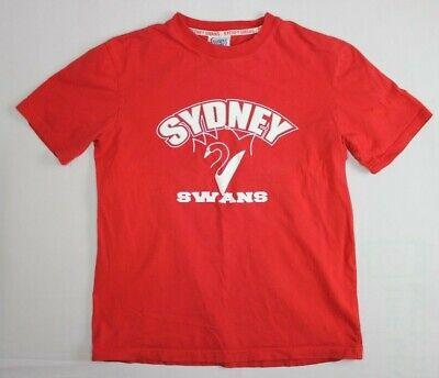 Sydney Swans Adult Mens Retro T-Shirt Tee Official AFL