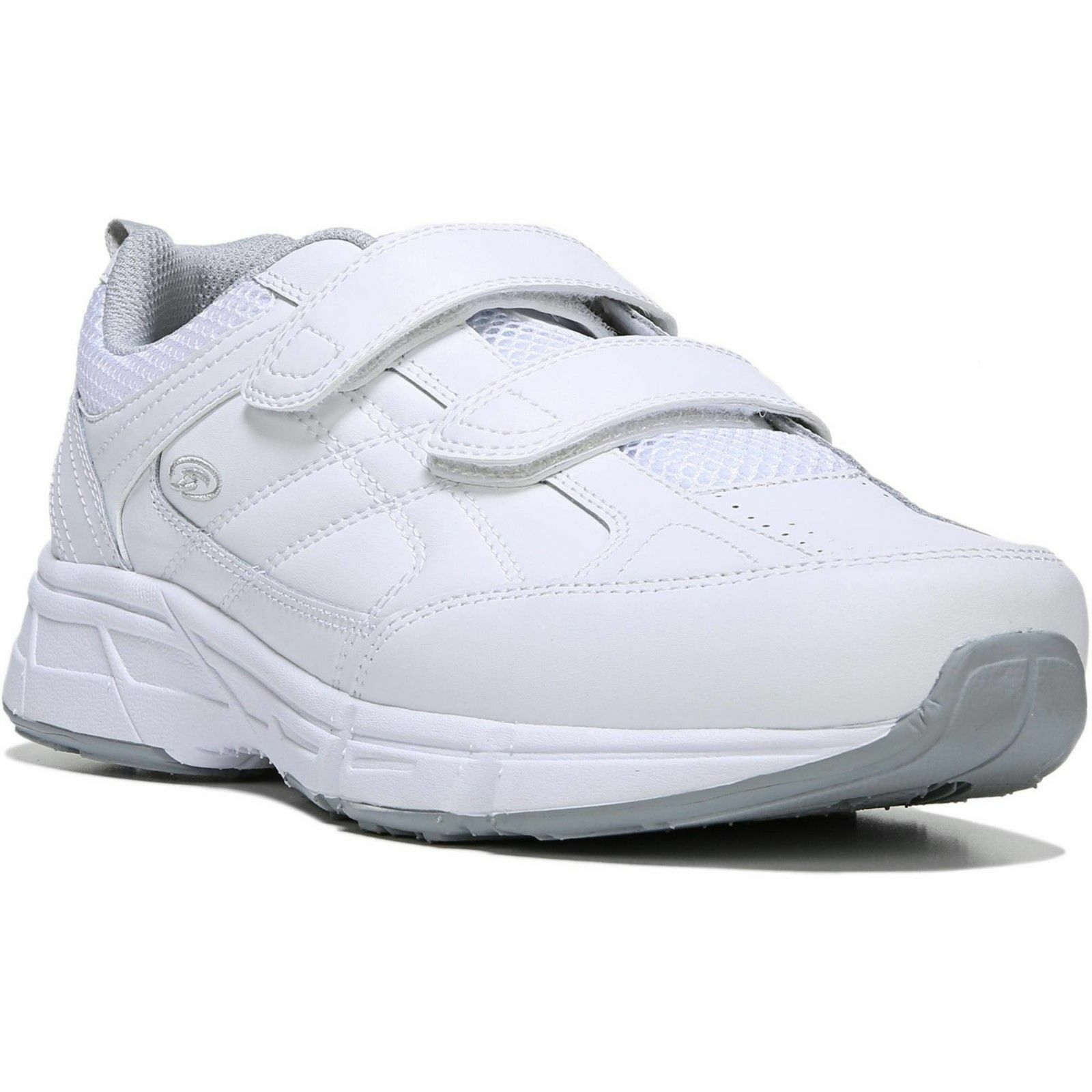 New with Tags, w/o Box Dr. Scholls Mens Brisk WW Wide-Width Athletic Shoes,WHITE