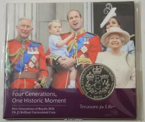 2018-Four-Generations-Of-Royalty-UK-BU-5-Five-Pound-Coin-Royal-Mint-Pack