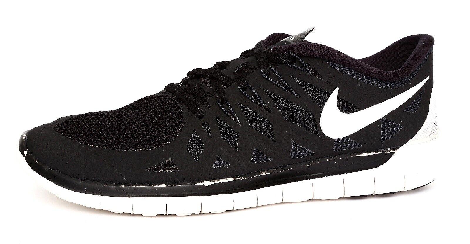Nike Free 5.0 Men's Black Lace Up Sneaker Sz 11 4293