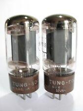 Pair 1959+/- Tung-Sol 5881 (6L6WGB) tubes - Hickok TV7B tested @ 37, 38, min:25