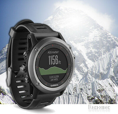 Garmin Fenix 3 Grey Multi Sport Triathlon Training Fitness Running GPS Watch
