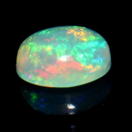 Natural Welo etíope ópalo de fuego oval cabochon piedra suelta 3x5 mm #06