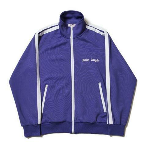 Men New Palm Angels Leisure zipper jacket sweatpants sportswear