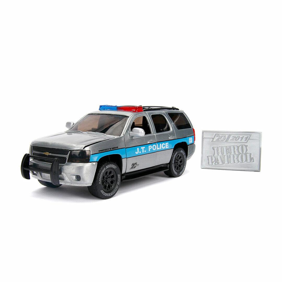 1 24 Jada - Hjältpatrull 2010 Chevy Tahoe Polis