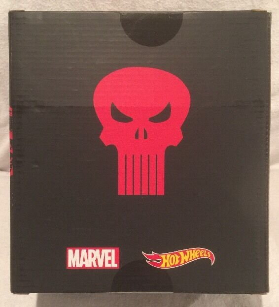 San Diego Diego Diego comic-con 2016 Hot Wheels de Mattel Exclusivo  - Darojoevil vs Punisher coches, nuevo, menta en caja bab776