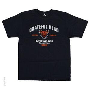 Nouveau-Grateful-Dead-Chicago-Soldier-Field-T-Shirt