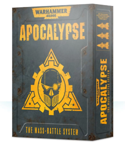 Warhammer 40,000  Apocalypse box & Command Asset cards New Preorder