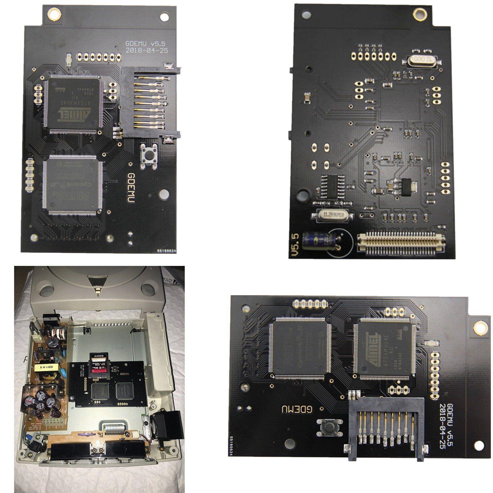 Placa de simulación de unidad óptica gdemu para máquina de juego VA1 DC ejecutar GDI, CDI imagen