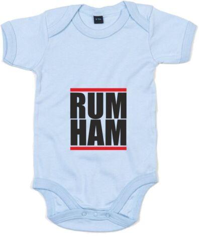 Printed Baby Grow Rum Ham