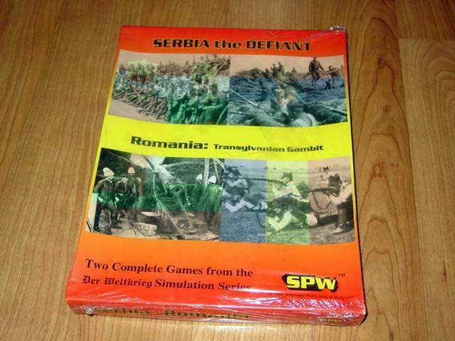 WW1 SPW - Serbia & Romania - Two Complete Games - Der Weltkrieg Series (NEW)