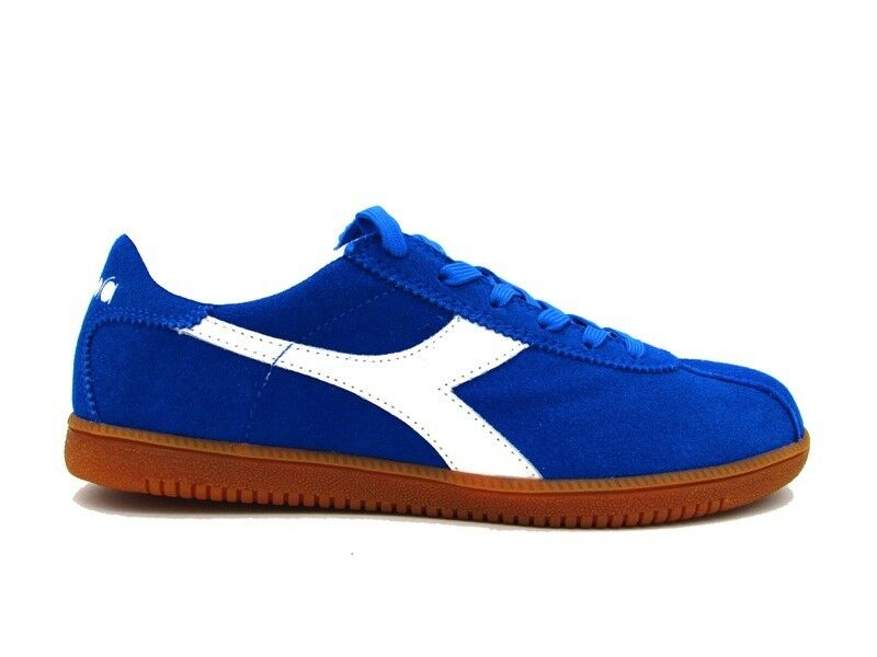DIADORA TOKYO SNEAKERS blueE WHITE BROWN 172302-60085