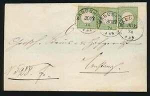 D.Reich Nr. 23 b MEF (3) Brief WALDSHUT 30.12.74 n. CONSTANZ, BPP-ATTEST (61545)