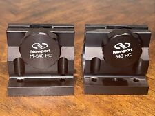 Newport 340 Rc Post Clamp Mount 15 Diameter Great For Optical Tables Lot 2
