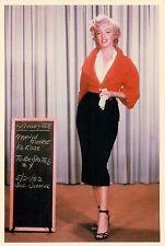 "Marilyn Monroe Red Top Niagara 4x6"" Postcard Movieland Wax Museum"