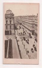 Vintage CDV Rue de Rivoli Aderiviere Photo Paris Rare Image !
