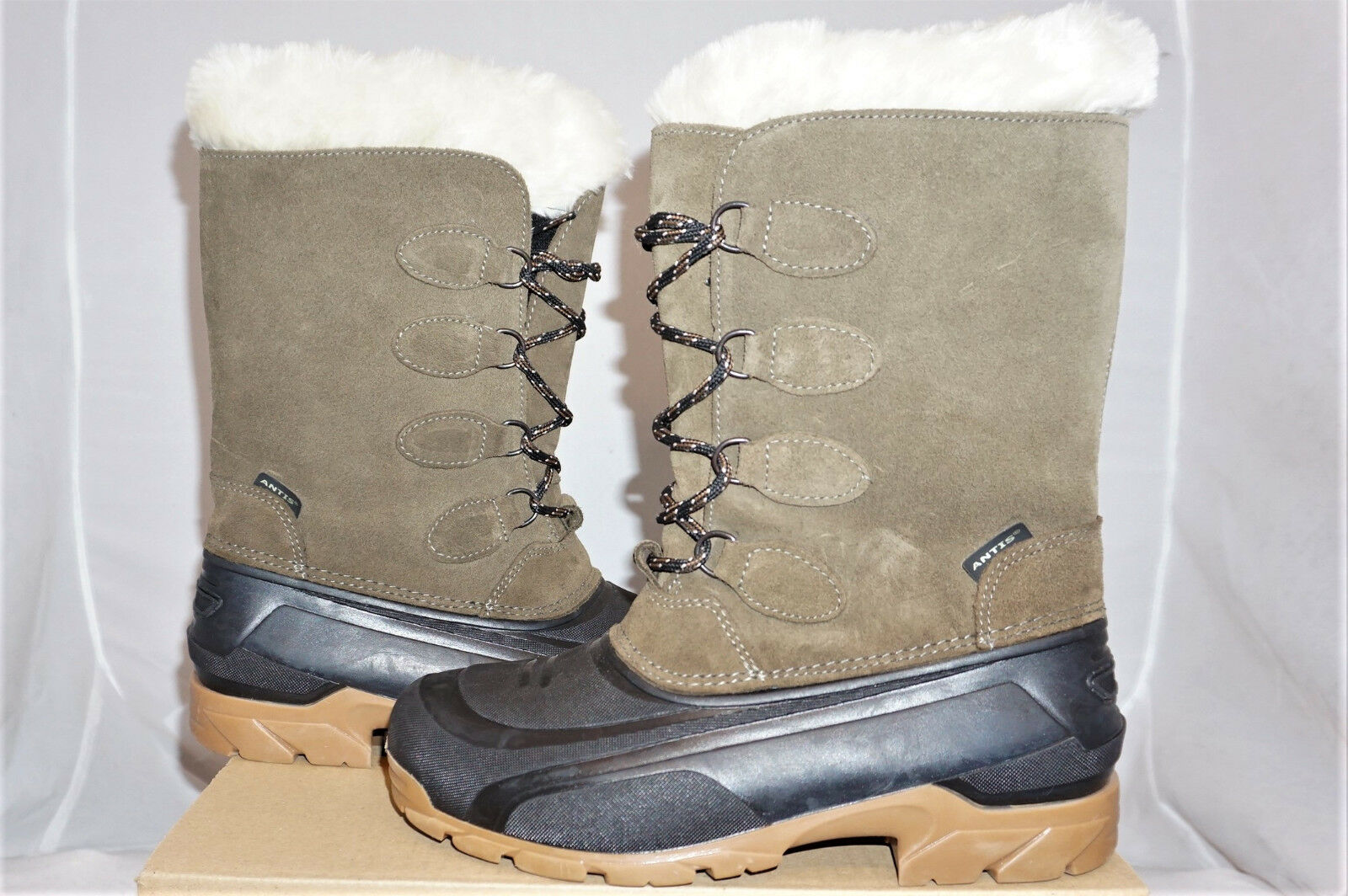 ANTIS Iceland High   38 Boots shoes Leather Winter Boots NEW   online sale