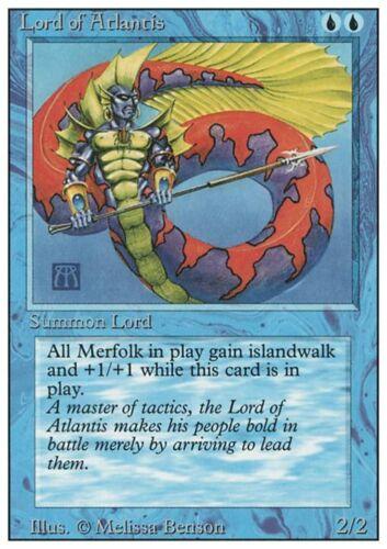 SIGNORE DI ATLANTIDE LORD OF ATLANTIS Magic 3ED Mint