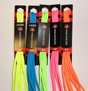 10-Seconds Oval Athletic Shoelaces 5