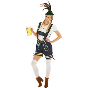 Trachten Set Kostum Frauen Karneval Fasching Halloween Oktoberfest