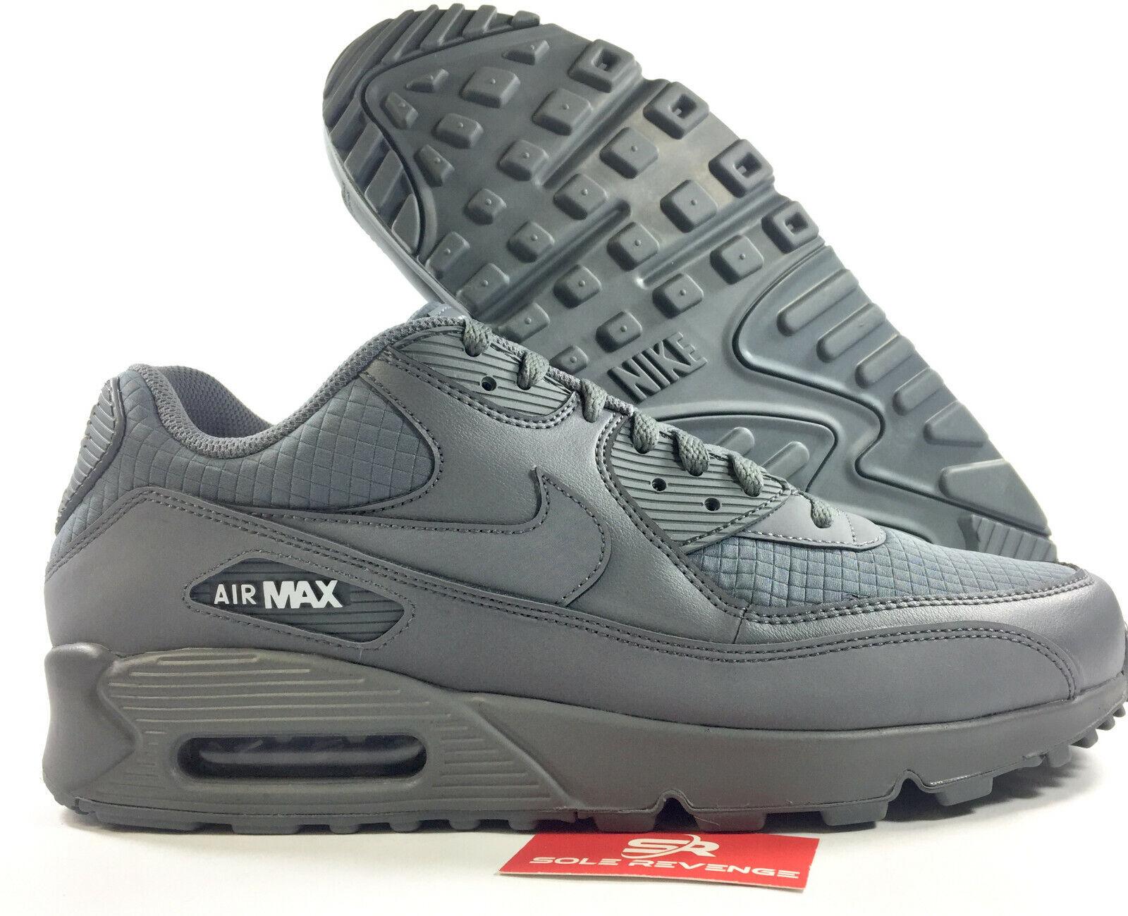New NIKE AIR MAX 90 Essential - AJ1285-017 MEN'S Cool Grey White shoes d1