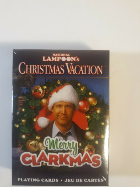 National Lampoon's Christmas Vacation Playing Cards New