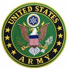 """United States Military Army Logo Motorcycle Biker Uniform Patch 3"""""""