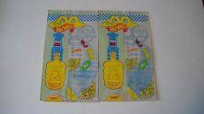 Barbie & Hot Wheels 1994 McDonalds Happy Meal Bags (2 of same bag)