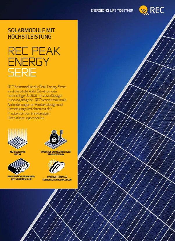 1,56  kW REC Photovoltaik Stromzählerbremse, SMA Sunny Boy SB 1.5-1VL-40