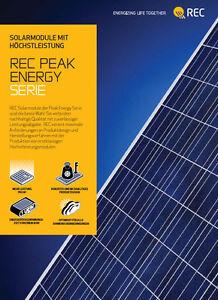 2,6 kW REC Photovoltaik Komplettanlage, SMA Sunny Boy SB 2.5 VL-40