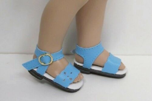 """Debs SKY BLUE Summer Sandals Doll Shoes For Helen Kish/'s 11/"""" Bitty Bethany"""