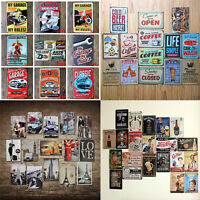 20x30 cm all NEW Metal Tin Sign Poster Plaque Bar Pub Club Wall Home Decor