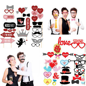 Party-props-Photo-Booth-st-valentin-fetes-grimaces-Selfie-photographie