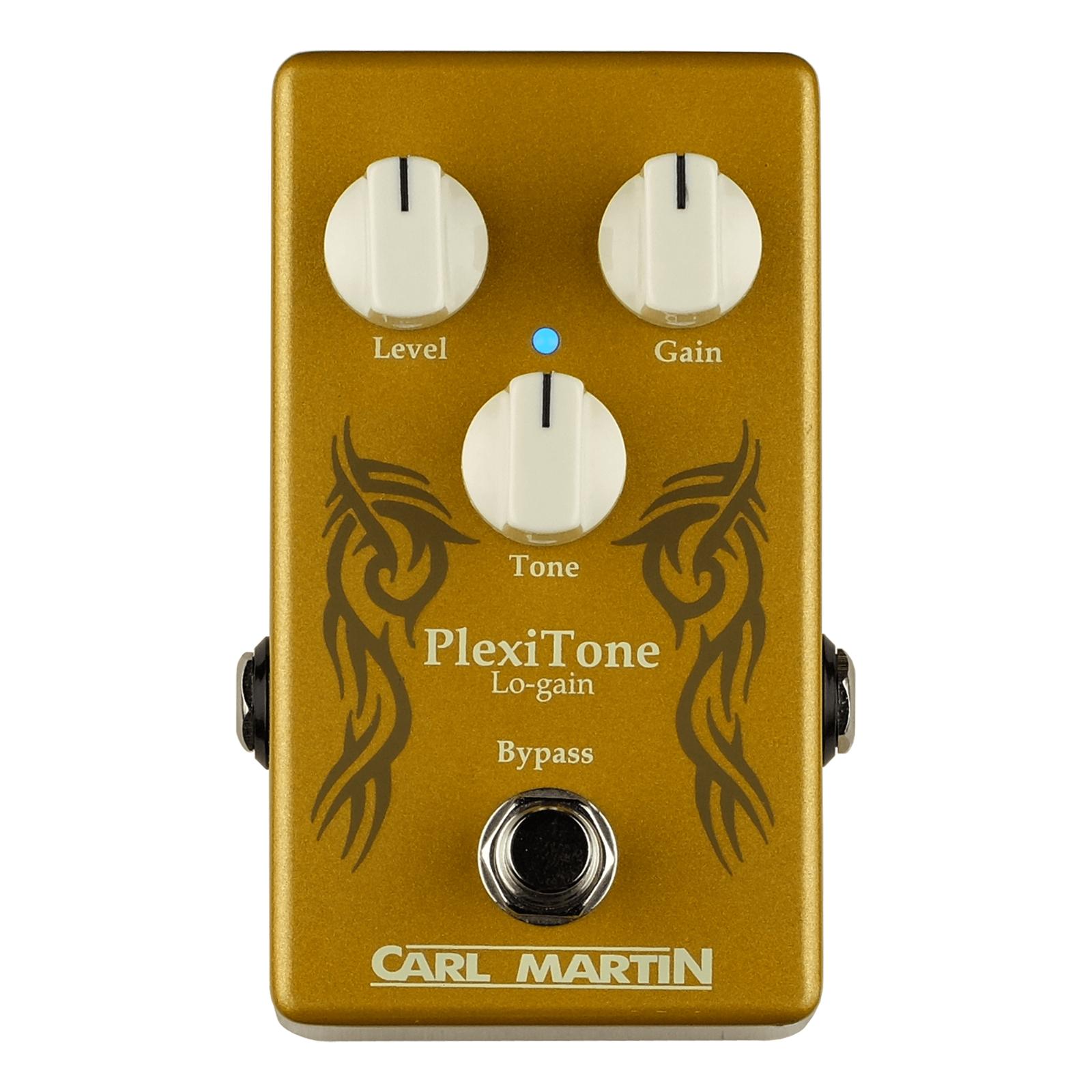Carl Martin PlexiTone Lo-Gain Boost Overdrive Guitar FX Pedal