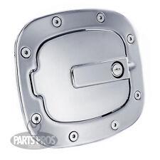 NEW Polished Locking Gas Fuel Door / FOR TOYOTA FJ CRUISER 2007-2014