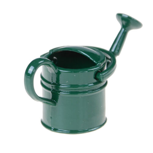 1:6//1:12 Metal Watering Can Doll House Miniature Garden Accessory Home Decor  FZ