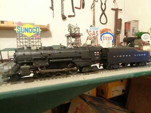 Lionel-Postwar-726RR-Steam-Loco-Berkshire-034-1952-034-amp-2046W-Tender-ready-for-work