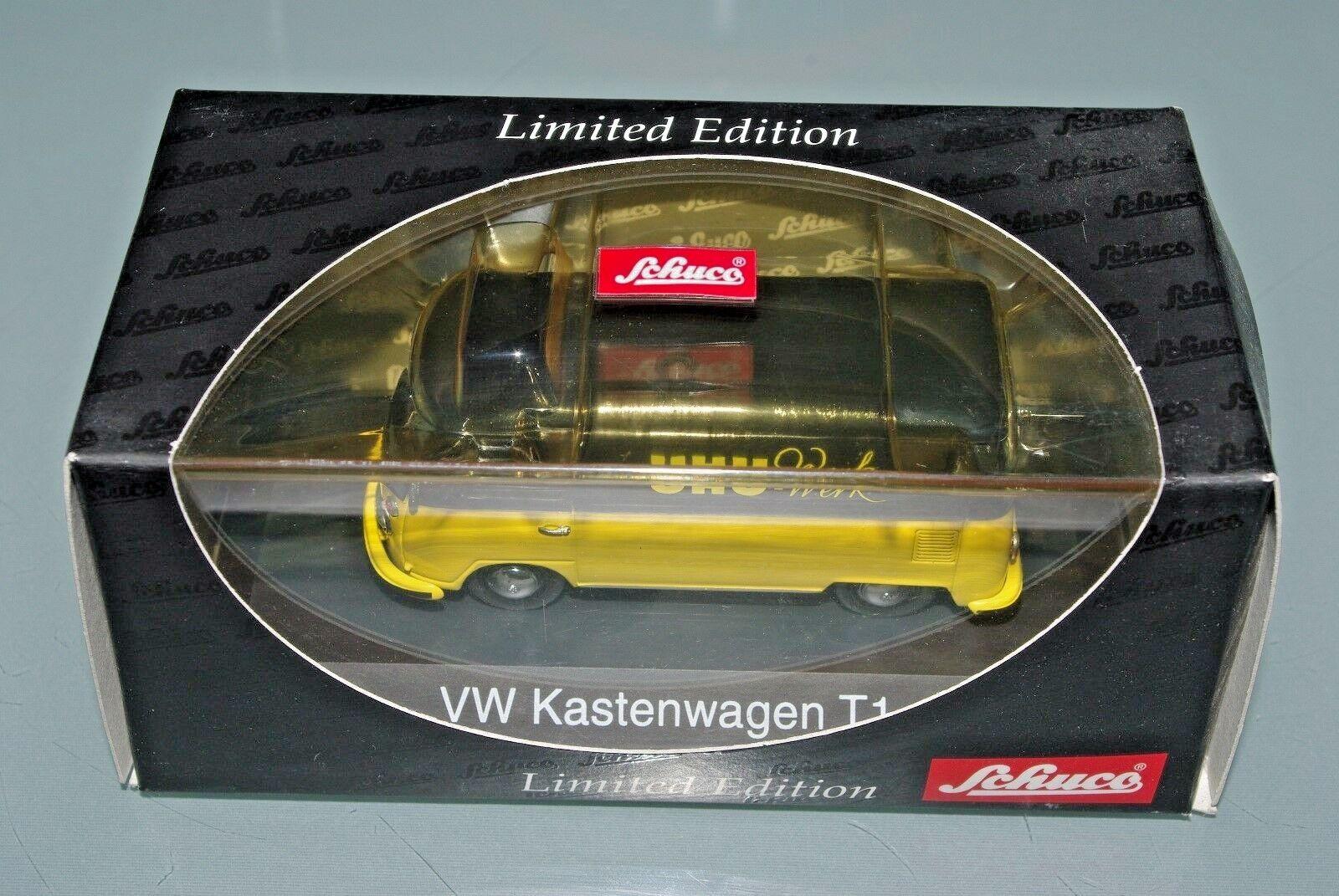 Schuco 1 43 VOLKSWAGEN VW KASTENWAGEN T1 splitscreen van UHU WERK