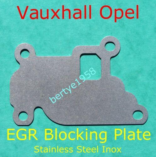 EGR valve blanking plate Vauxhall Opel 1.0 1.2 1.4 Astra Agila Corsa MerivaTigra