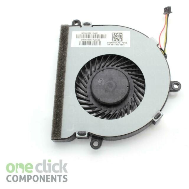 New Replacement CPU Cooling Fan SPS-925012-001 DC28000JLF0 for HP Notebook 15-BS