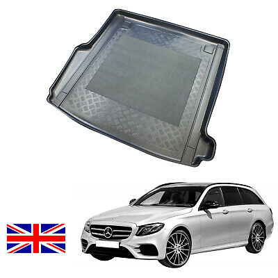Mercedes  S212 W212 E Class estate choice boot liner load mat bumper protector