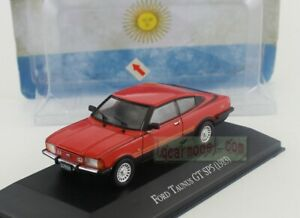 1/43 Scale FORD TAUNUS GT SP5 1983 Diecast Model Has Flaw