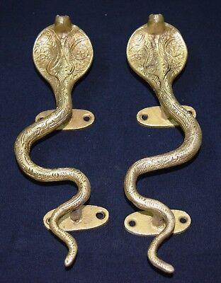 Lizard Handle Golden Brass Handcraft Reptile Design Party Lawn Door Handle MS10