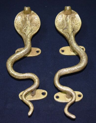 Snake Shape Brass Door Handle Unique Style Window Pull Hardware Door Handle BM25
