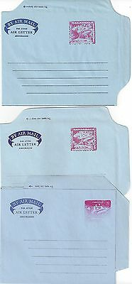 100% Wahr Liberia 1956 61 Drei Luft Buchstaben Fg 10 10a & 10a Postfrisch Selten