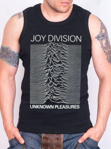 Joy Division LOGO Black Tank Top Rock Athletic Vest Rock Band Shirt